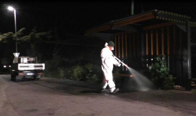 Sanificazione fermate Atp Sassari