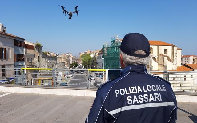 Droni Polizia Sassari