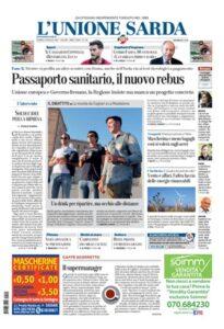 Prima Pagina Unione Sarda 22 maggio