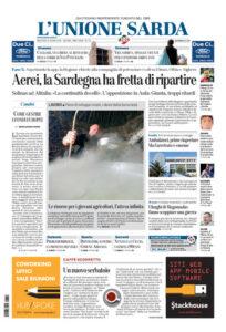 Prima Pagina Unione Sarda 10 giugno