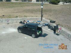 Abbandono rifiuti Sassari