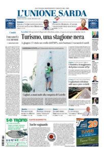 Prima pagina Unione Sarda 10 luglio