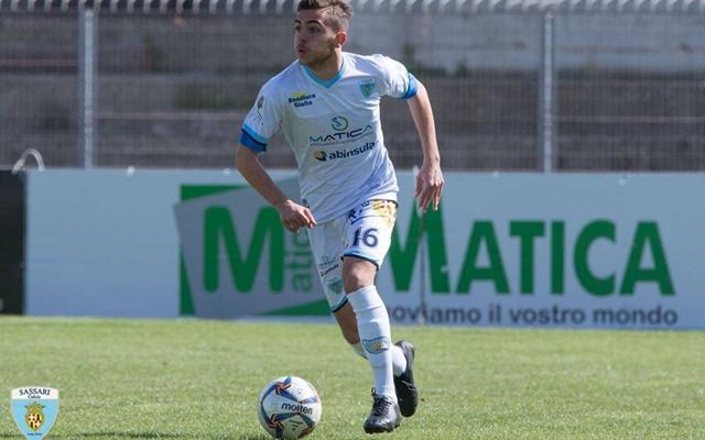 Paolo Tuccio Sassari calcio Latte Dolce