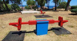 Nuovi giochi nei parchi di Porto Torres