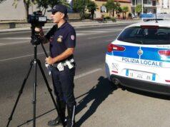 Telelaser Polizia locale Sassari