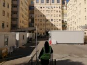 Struttura amovibile esterno Aou Sassari