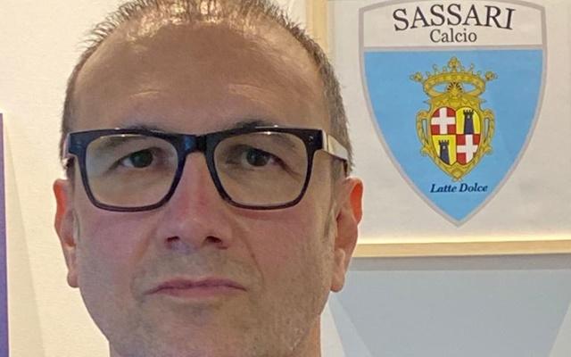 Fabio Fossati Sassari calcio Latte Dolce