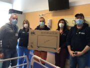 Televisori in Clinica chirurgica Sassari