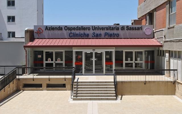 Ingresso Cliniche San Pietro Sassari
