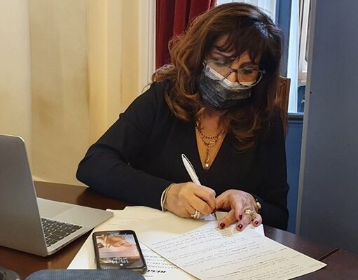 Maria Francesca Masala assessora Sassari
