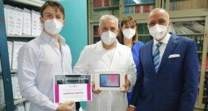 Consegna tablet Aou Sassari