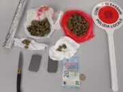 Spaccio marijuana Sassari