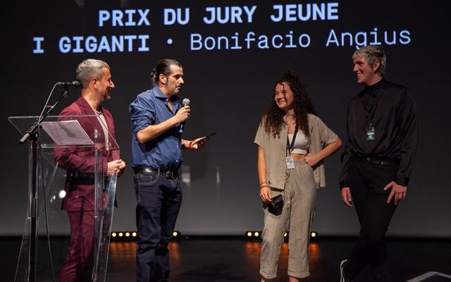 Bonifacio Angius I Giganti premio Francia