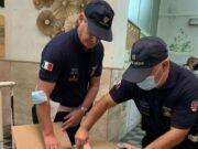 Polizia locale rifugiati afgani